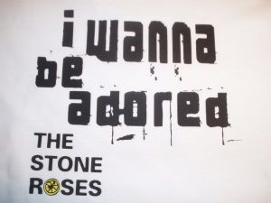MENS  THE STONE ROSES `I WANNA BE ADORED` T-SHIRT 2